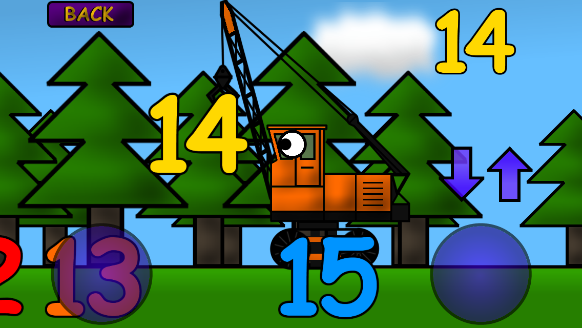 Kids Trucks Numbers & Counting- screenshot