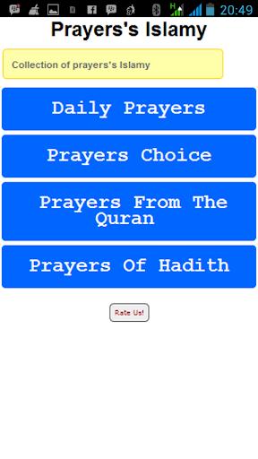 Daily Prayer for Muslim
