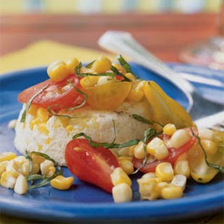 Sweet Corn and Parmesan Flans