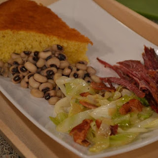 Basic Black Eyed Peas with Ham Hock
