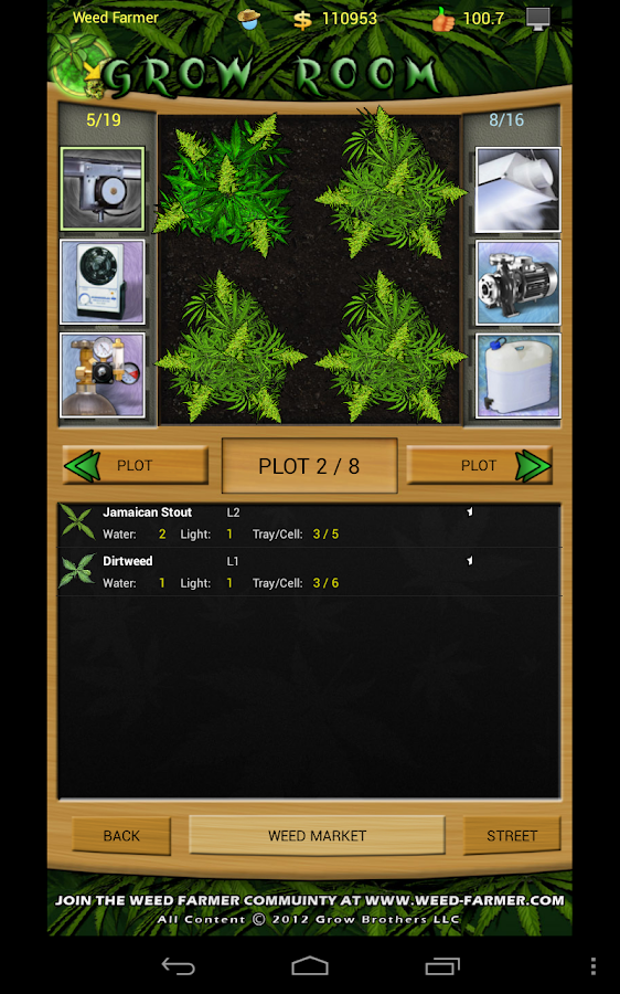 Weed Farmer Overgrown- screenshot