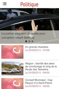 Clicanoo - Journal de l'île - screenshot thumbnail