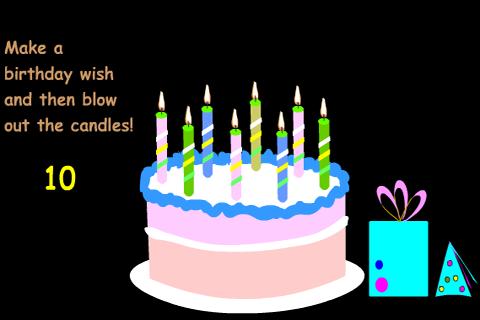 生日動畫卡