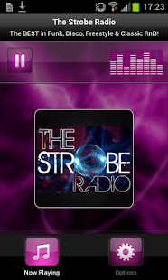 The Strobe Radio- screenshot thumbnail