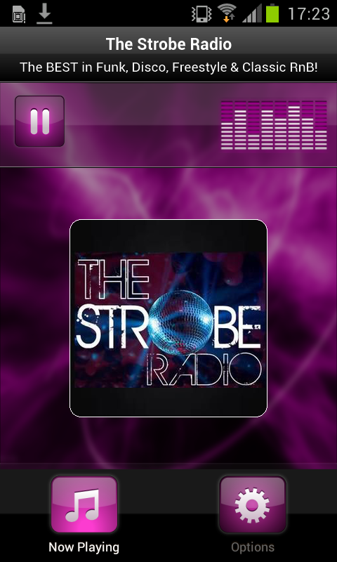 The Strobe Radio- screenshot