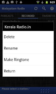 Malayalam Radio- screenshot thumbnail