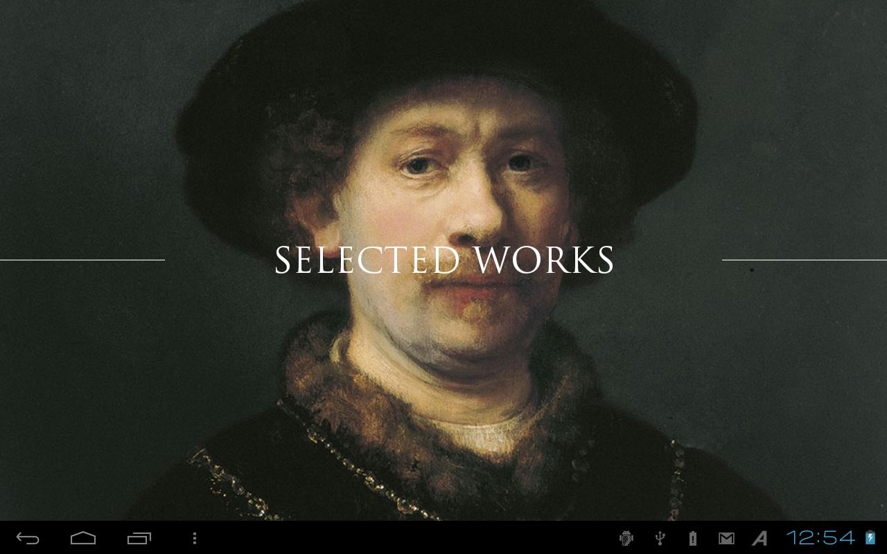 Selected Works - screenshot