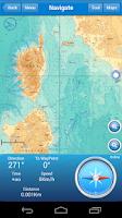 Screenshot of Marine Navigation Lite