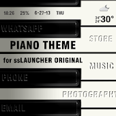 Piano Theme for ssLauncher OR