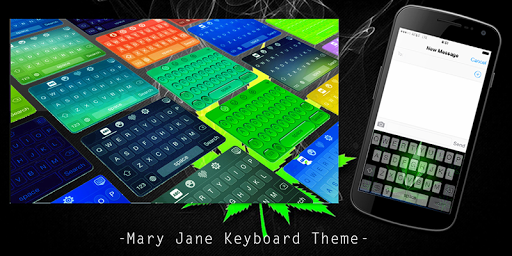 Mary Jane Keyboard Theme