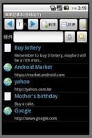 Screenshot of Simple Notepad(Barcode Save)