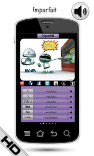 FREE French Verbs LearnBots - screenshot thumbnail