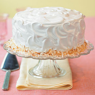 Coconut Triple-Layer Cake.