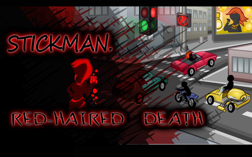 Stickman Red Haired Death