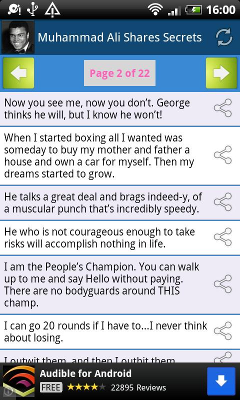 Muhammad Ali Shares Secrets - screenshot
