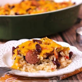 Red Beans & Rice Casserole.
