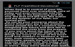 Screenshot of Full Life FreshWord