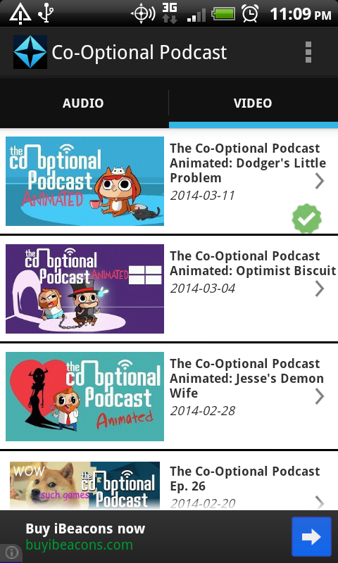 Co-Optional Podcast - screenshot