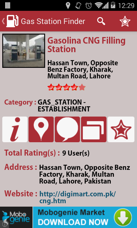 Gas Station Finder Android Apps On Google Play