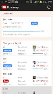 RedminePM - Redmine Client App - screenshot thumbnail