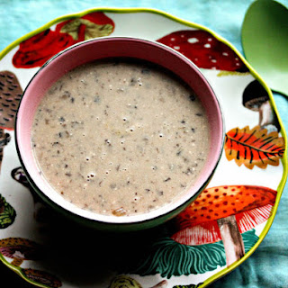 Lazy Day Slow Cooker Mushroom Soup