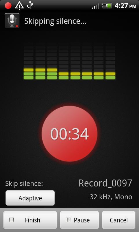 Smart Voice Recorder - screenshot