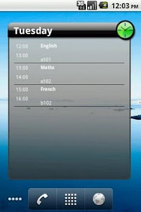 QuikPlan Timetable organizer- screenshot thumbnail