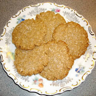 Margie's Shortbread Oatmeal Cookies.