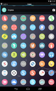 Cryten - Icon Pack Screenshot 14