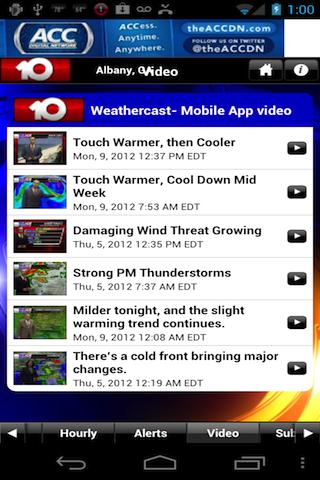 WALB 24/7 Weather - screenshot
