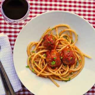 Spaghetti And From Scratch Meatballs