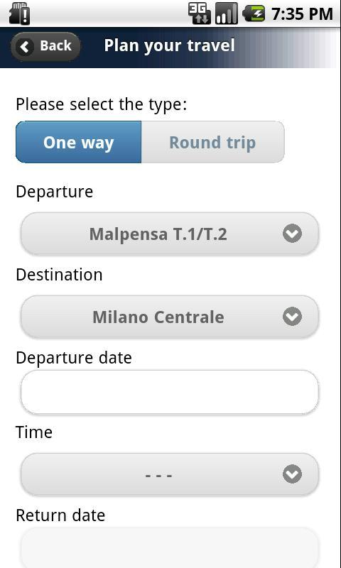 MXP Shuttle Mobile- screenshot