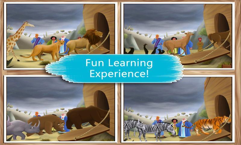 Noah's Ark: Bible Story Book- screenshot