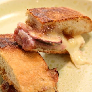 Fresh-Fig Grilled Cheese Sandwiches.