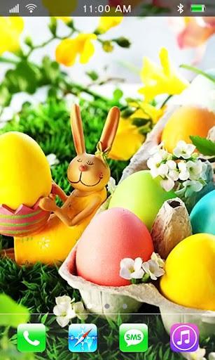 Easter Rabbits live wallpaper