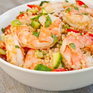 Vietnamese Shrimp and Quinoa Salad