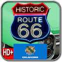 Route 66 OKLAHOMA HD+Wallpaper logo