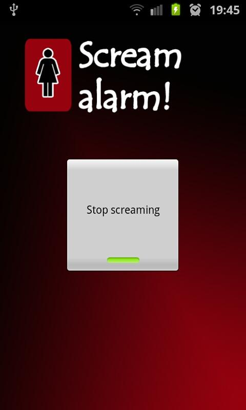 Scream Alarm!- screenshot