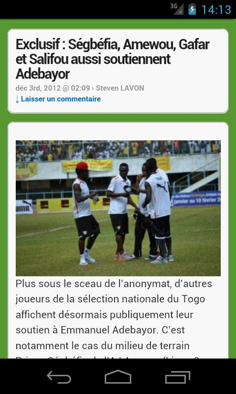 Africa Top Sports - screenshot