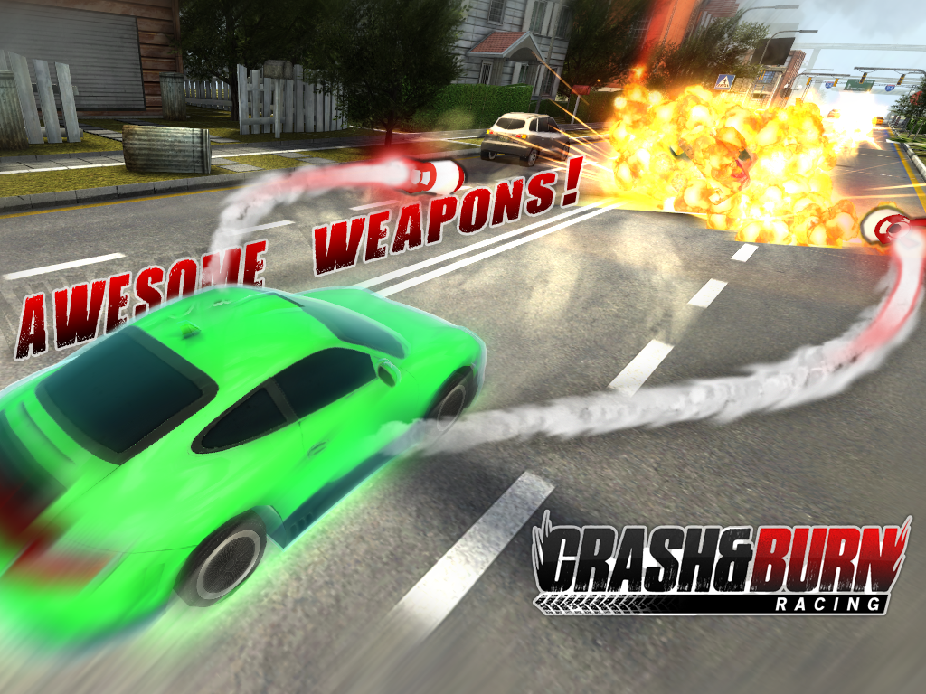 Crash and Burn Racing screenshot #14