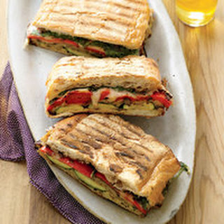 Ratatouille Grilled Panini