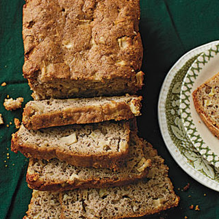 Apple-Flax-Pecan Bread.