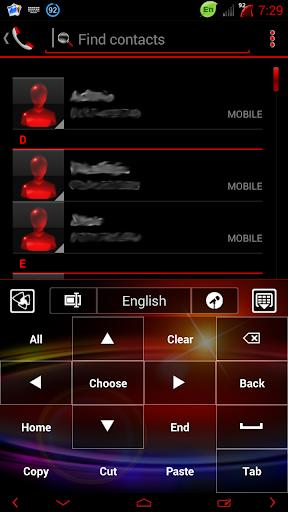 【免費個人化App】银河GO输入法主题-APP點子