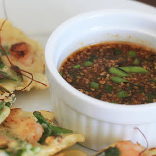 Soy Sesame Dipping Sauce.