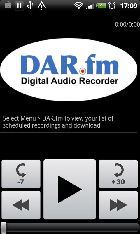 DAR Radio Downloader - screenshot