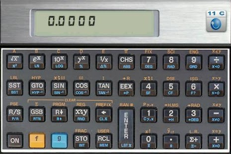 HC-11C Scientific Calculator - screenshot thumbnail