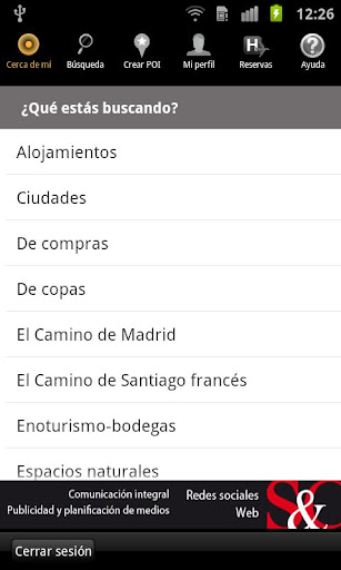Turismo España GPS