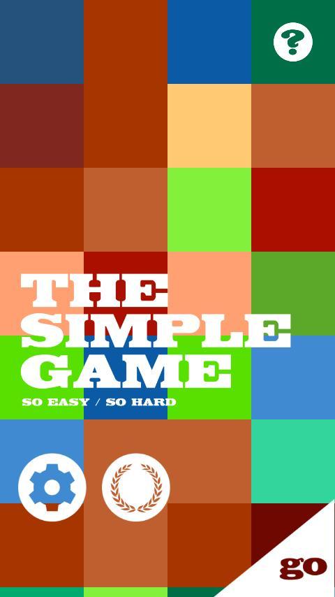 The Simple Game- screenshot