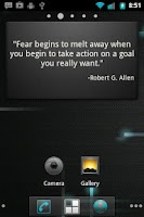Screenshot of Motivational Quote for Success
