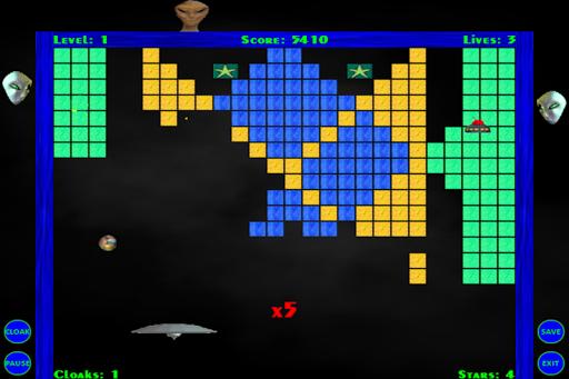 Alien Invasion Breakout